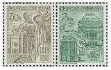 100 let ND v Praze a Rok českého divadla - čistá - č. 2614-2615