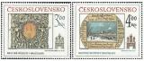 Bratislavské historické motivy 1984 - čistá - č. 2650-2651