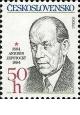 100. výročí narození Antonína Zápotockého - čistá - č. 2678
