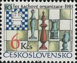 80 let šachové federace - čistá - č. 2694