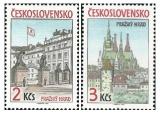 Pražský hrad 1985 - čistá - č. 2717-2718
