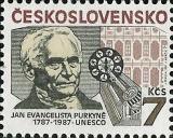 200. výročí narození Jana Evangelisty Purkyně - čistá - č. 2811