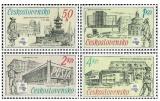 70 let Poštovního muzea - čistá - č. 2836-2839