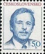 Prezident V. Havel - čistá - č. 2928