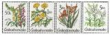 Zahradní květiny - čistá - č. 2930-2933
