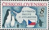 30. výročí Smlouvy o Antarktidě - čistá - č. 2978