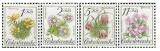 Ochrana přírody - chráněná květena - čistá - č. 2990-2993