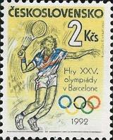 XXV. letní Olympijské hry Barcelona - čistá - č. 3007