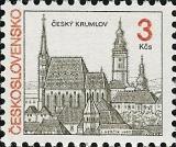 Města - Český Krumlov - čistá - č. 3024