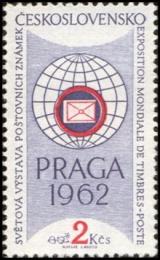 Světová výstava poštovních známek PRAGA 1962 - čistá - č. 1171