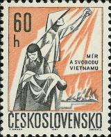 Mír a svoboda Vietnamu - čistá - č. 1582