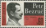 100. výročí narození Petra Bezruče - čistá - č. 1623