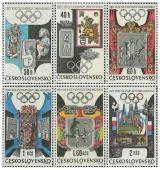 XIX. LOH Mexico 1968 - čistá - č. 1671-1676