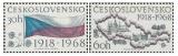 50. výročí vzniku Československo - čistá - č. 1719-1720
