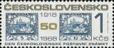 Den čs. poštovní známky 1968 - čistá - č. 1740