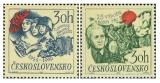 25. výročí Slovenského národního povstání a 25. výročí bojů o Duklu - čistá - č. 1778-1779