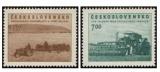 Socialistická vesnice - čistá - č. 730-731