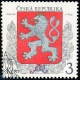 Malý státní znak ČR - razítkovaná - č. 1