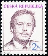 Prezident ČR - Václav Havel - razítkovaná - č. 3