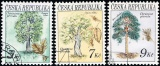 Ochrana přírody - Stromy - razítkovaná - č. 23-25