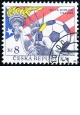 Mistrovství světa ve fotbale v USA - razítkovaná - č. 45