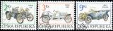 Historické závodní automobily - razítkovaná - č. 53-55
