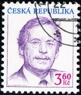 Prezident ČR - Václav Havel - razítkovaná - č. 72