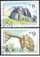 Krásy naší vlasti - skalní útvary - razítkovaná - č. 78-79