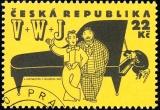 Osobnosti Osvobozeného divadla - razítkovaná - č. 87