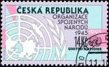 50. výročí založení OSN - razítkovaná - č. 95