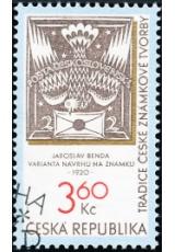 Tradice české známkové tvorby - razítkovaná - č. 101