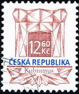 Historické stavební slohy - Kubismus - razítkovaná - č. 150