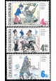 Český kreslený humor - Osudy dobrého vojáka Švejka - razítkovaná - č. 153-155