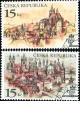 Praga 1998 - Praha stověžatá - razítkovaná - č. 156-157