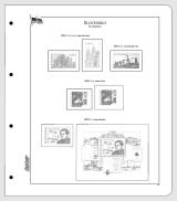 Albové listy CONTOUR-S  Slovensko 2012, nezasklené (19 listů), papír 250gr.