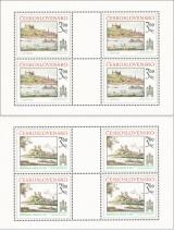 PL 2410-2411 - Bratislavské historické motivy - kompletní řada PL - čistý