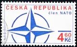 Vstup České republiky do NATO - razítkovaná - č. 213