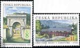 Krásy naší vlasti - razítkovaná - č. 220-221