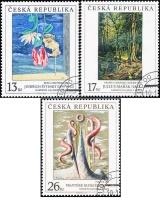 Umění 1999 - razítkovaná - č. 237-239