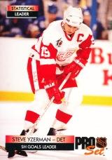 Hokejové karty Pro Set 1992-93 - Steve Yzerman - 247