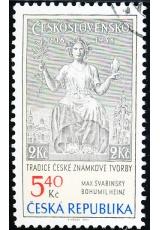 Tradice české známkové tvorby - razítkovaná - č. 313