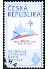 Summit NATO v Praze - razítkovaná - č. 338