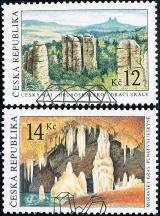 Krásy naší vlasti - razítkovaná - č. 356-357