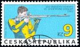 Sport - Mistrovství Evropy ve střelbě - razítkovaná - č. 362