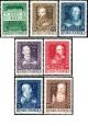 Rakousko - čistá - č. 878-884