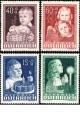 Rakousko - čistá - č. 929-932