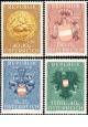 Rakousko - čistá - č. 937-940