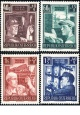 Rakousko - čistá - č. 960-963