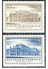 Rakousko - čistá - č. 1020-1021