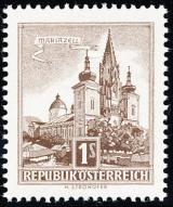 Rakousko - čistá - č. 1035